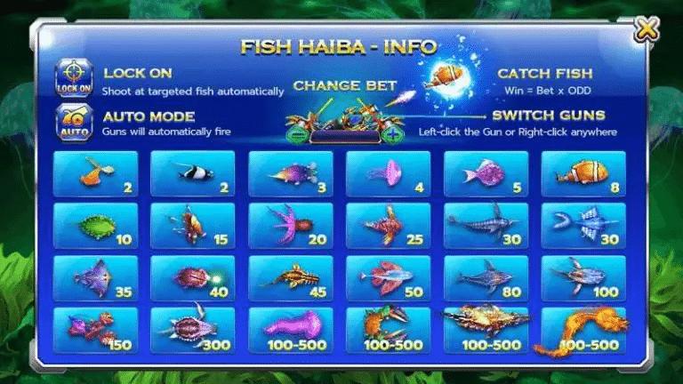 ทดลองเล่น ยิงปลา